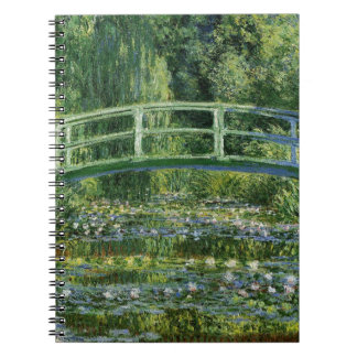 Claude Monet Water Lilies and Japanese Bridge Notebooks