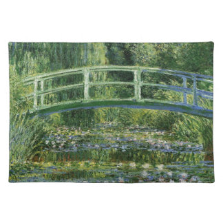 Claude Monet Water Lilies and Japanese Bridge Placemat