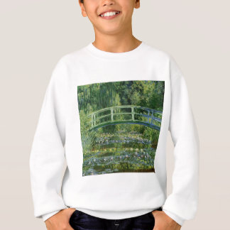Claude Monet Water Lilies and Japanese Bridge Sweatshirt
