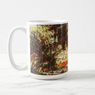 Claude Monet - Water Lilies and Japanese Footbridg Coffee Mug