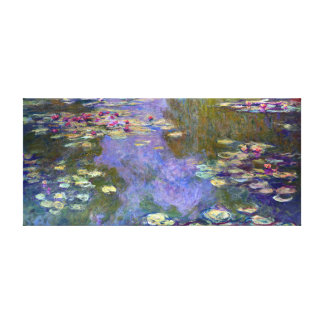 Claude Monet Water Lilies Canvas Print