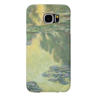 Claude Monet Water Lilies Floral Vintage Fine Art Samsung Galaxy S6 Cases