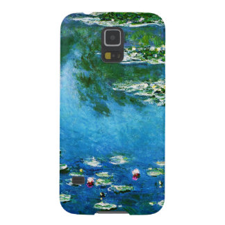 Claude Monet-Water-Lilies Galaxy S5 Cases