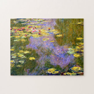 Claude Monet: Water Lilies Jigsaw Puzzle