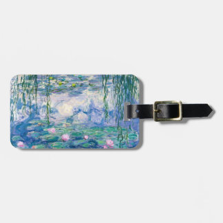 CLAUDE MONET - Water lilies Luggage Tag