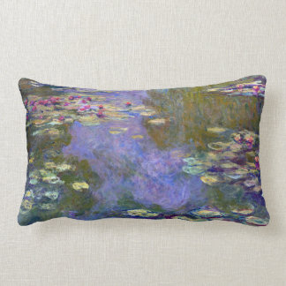 Claude Monet Water Lilies Lumbar Pillow