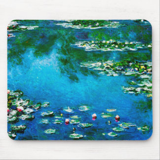 Claude Monet-Water-Lilies Mouse Pad