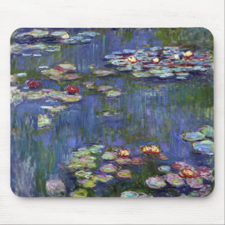 Claude Monet Water Lilies Mouse Pad
