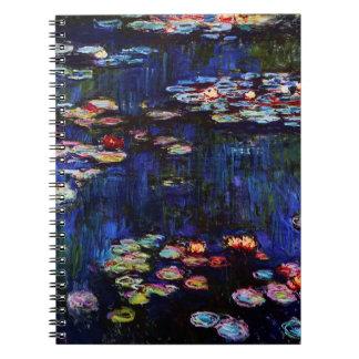 Claude Monet-Water-Lilies Notebooks