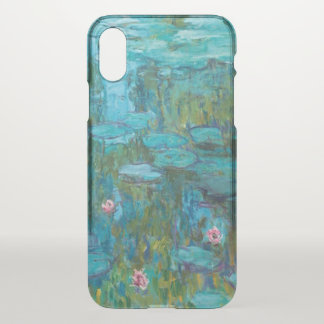 Claude Monet Water Lilies Nymphéas GalleryHD Art iPhone X Case