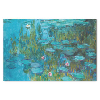 Claude Monet Water Lilies Nymphéas GalleryHD Art Tissue Paper