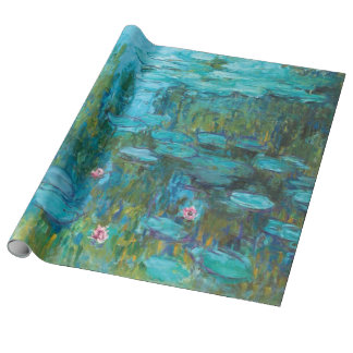 Claude Monet Water Lilies Nymphéas GalleryHD Wrapping Paper