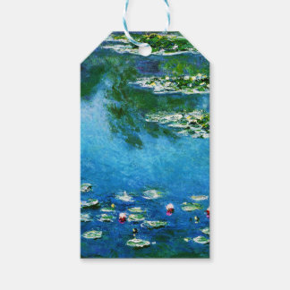 Claude Monet-Water-Lilies Pack Of Gift Tags