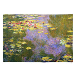 Claude Monet: Water Lilies Placemat