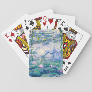 CLAUDE MONET - Water lilies Playing Cards