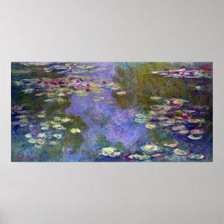 Claude Monet Water Lilies Poster