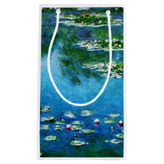 Claude Monet-Water-Lilies Small Gift Bag