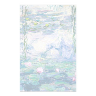 CLAUDE MONET - Water lilies Stationery