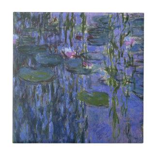 Claude Monet - Water Lilies Tile