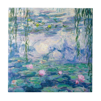 CLAUDE MONET - Water lilies Tile