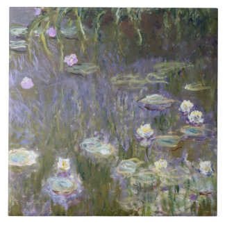 Claude Monet - Water Lilies Tiles