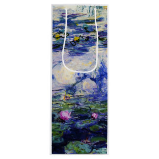 Claude Monet-Water-Lilies Wine Gift Bag
