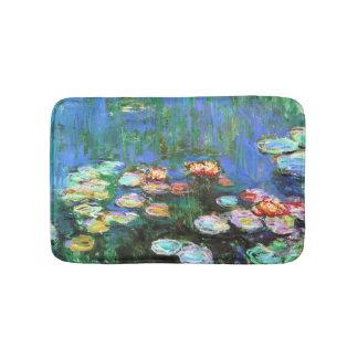 Claude Monet Water Lily Pond Bathroom Mat
