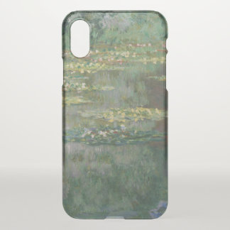 Claude Monet Water Lily Pond Fine Art GalleryHD iPhone X Case
