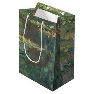 Claude Monet Water Lily Pond Fine Art GalleryHD Medium Gift Bag