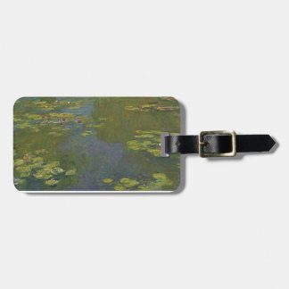 Claude Monet Water Lily Pond Luggage Tag