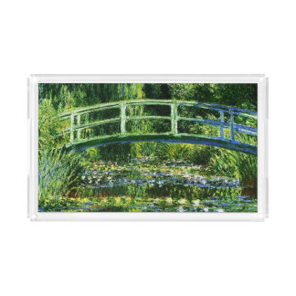 Claude Monet-Water-Lily Pond Serving Tray