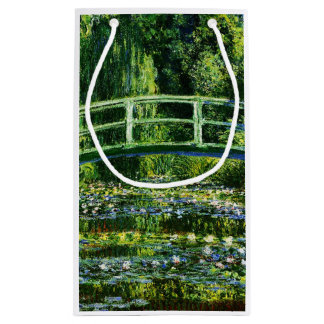 Claude Monet-Water-Lily Pond Small Gift Bag