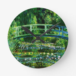 Claude Monet-Water-Lily Pond Wall Clock
