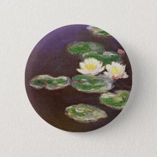 Claude Monet - Waterlilies 2 Inch Round Button