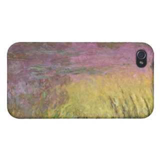 Claude Monet   Waterlilies at Sunset iPhone 4 Cover