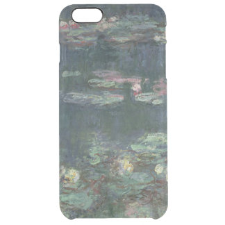 Claude Monet | Waterlilies: Green Reflections Clear iPhone 6 Plus Case