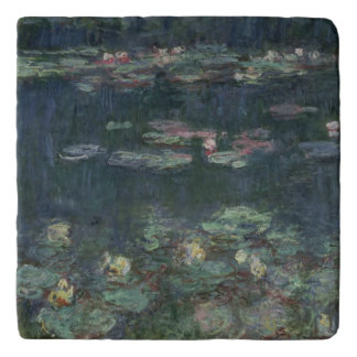 Claude Monet | Waterlilies: Green Reflections Trivet