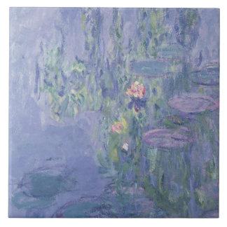Claude Monet | Waterlilies Tile
