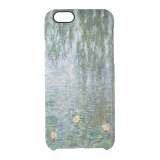 Claude Monet   Waterlilies Weeping Willows left Clear iPhone 6/6S Case