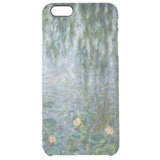 Claude Monet | Waterlilies Weeping Willows left Clear iPhone 6 Plus Case