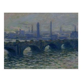 Claude Monet | Waterloo Bridge, 1902 Postcard