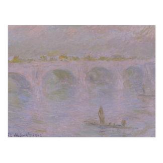 Claude Monet - Waterloo Bridge in London Postcard