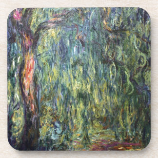 Claude Monet Weeping Willow Coasters