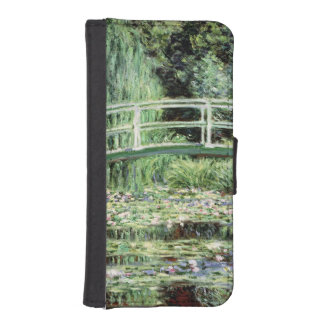 Claude Monet | White Waterlilies, 1899 iPhone SE/5/5s Wallet Case