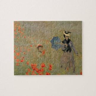 Claude Monet   Wild Poppies, near Argenteuil Jigsaw Puzzle