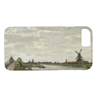 Claude Monet - Windmills Near Zaandam Case-Mate iPhone Case