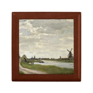 Claude Monet - Windmills Near Zaandam Gift Box