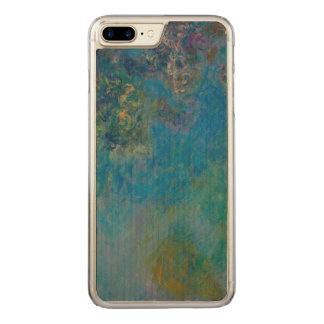 Claude Monet Wisteria Fine Art Floral GalleryHD Carved iPhone 8 Plus/7 Plus Case