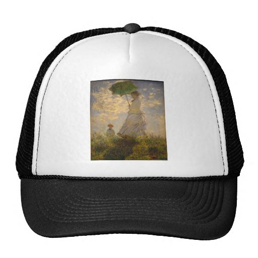 Claude Monet: Woman with a Parasol, 1875 Trucker Hat