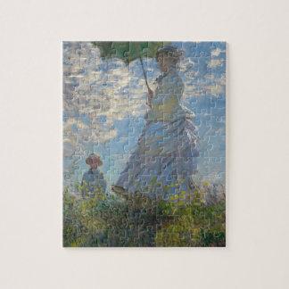 Claude Monet Woman with a Parasol 1875 Jigsaw Puzzle